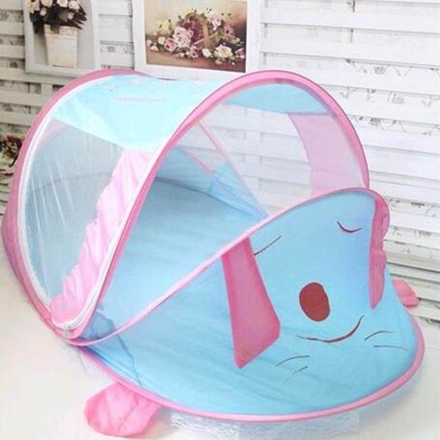 Lovely Dog Baby Crib Mosquito Netting Bed Gordijnen Hemelbed Canopy ...