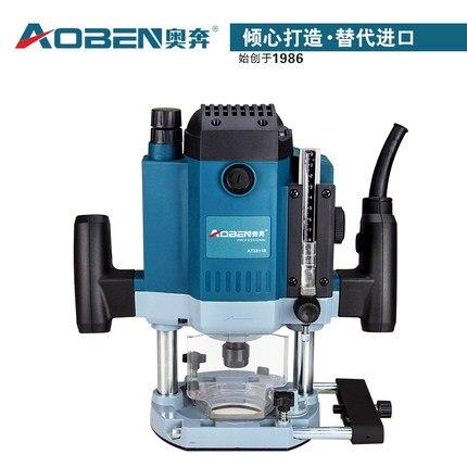 220 V 1800 W de alta potencia ranuradora máquina de grabado de carpintería máquina de fresado electromecánico herramientas eléctricas DIY