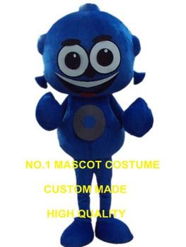 青エイリアンマスコット衣装カスタム漫画のキャラクターコスプレカーニバル衣装2989