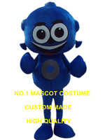 Mavi alien maskot kostüm özel karakter karikatür cosplay karnaval kostüm 2989
