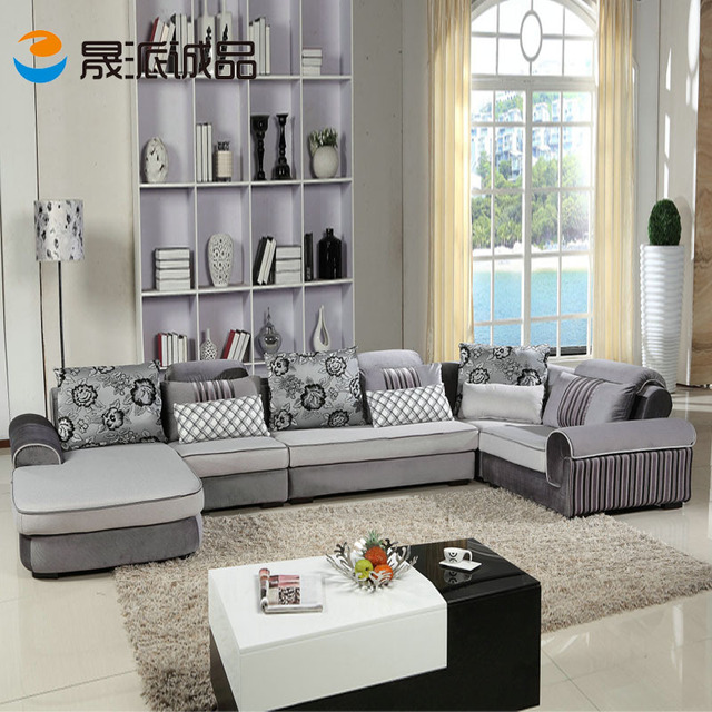 u shaped divano mobili modern living room divano di marca di lusso ...