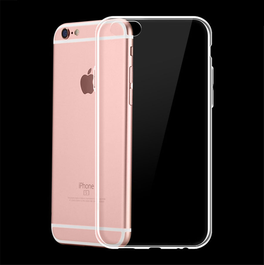 New Transparent Clear Case Soft TPU Case Silicone Cover Ultra Thin Mobile Phone Case for IPhone 8 7 5 5S SE 6 6s Plus X S R MAX(China)