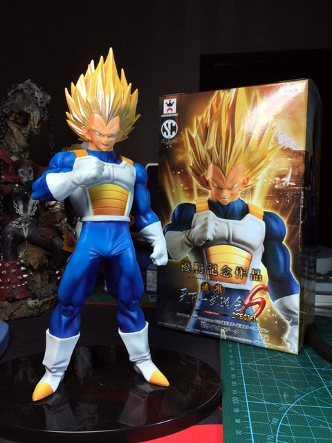 Super Saiyan Prince Vegeta Model (17 CM)