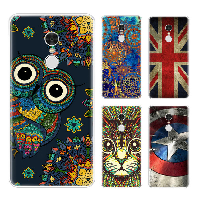 purchase cheap 660ea 5db7b US $2.88 |Soft Silicone TPU Back Cover For Xiaomi redmi note 4X 3gb 32gb  cases printed cartoon phone case Fundas For redmi Note 4 X 5.5