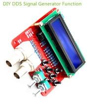 1 مجموعة وظيفة dds إشارة مولد مولد التردد ساحة ساوتوث المثلث موجة diy أجزاء diy عدة مكونات مصدر إشارة
