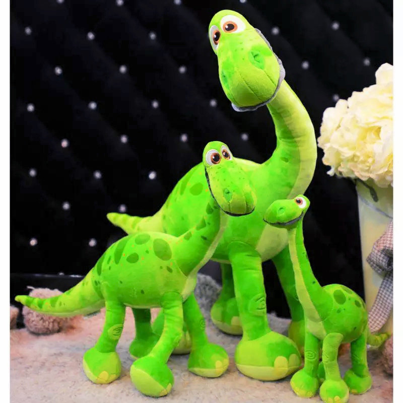 45cm~130cm Pixar Movie The Good Dinosaur Spot Dinosaur Arlo Plush Doll Stuffed Toy green Dragon Swag Birthday Gift for kids Boy