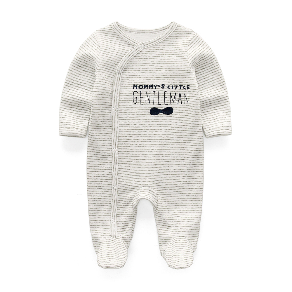 HTB1ztsLbovrK1RjSspcq6zzSXXaI Baby Boy Rompers Infantil Roupa Newborn Girls Clothes 100% Soft Cotton Pajamas Overalls Long Sheeve Baby Rompers Infant Clothing
