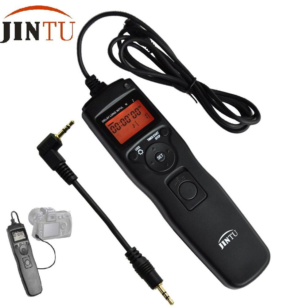 Jintu intervalómetro temporizador Disparador remoto RS-60E3 para Canon 80D 700D 650D 600D 550D 500D 60D 70D 1100D 1000D
