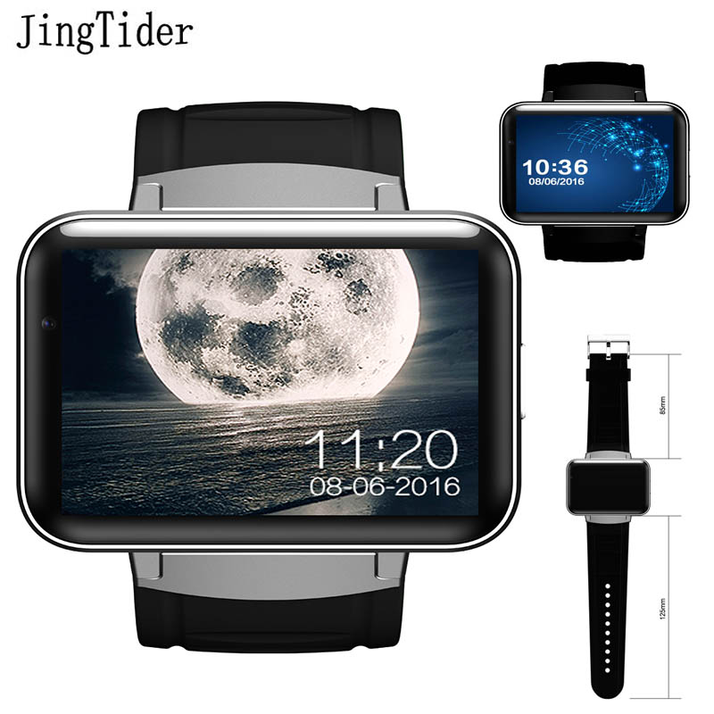 DM98 Smart watch MTK6572 Dual core 2.2 inch HD IPS LED Screen 900mAh 4GB Rom Smartwatch phone Android OS camera 3G GPS WIFI moon upgrade cycling helmet road mountain mtb bike bicycle helmet with insect net 52 64cm casco ciclismo page 1
