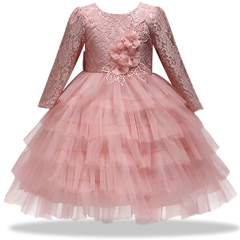 NEW baby   girl   birthday party banquet tennis gauze   dress     flower     girl   Wedding Bridesmaid group dance party   dress