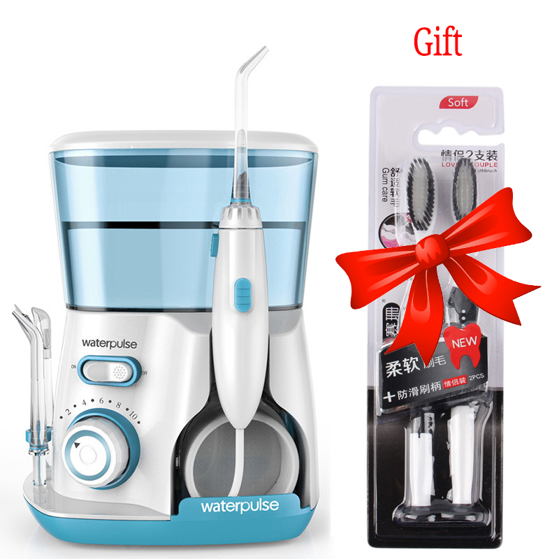 Waterpulse V300 Oral Irrigator 800ml Dental Irrigator Dental Water Jet Oral Hygiene Water Power Flosser Dental