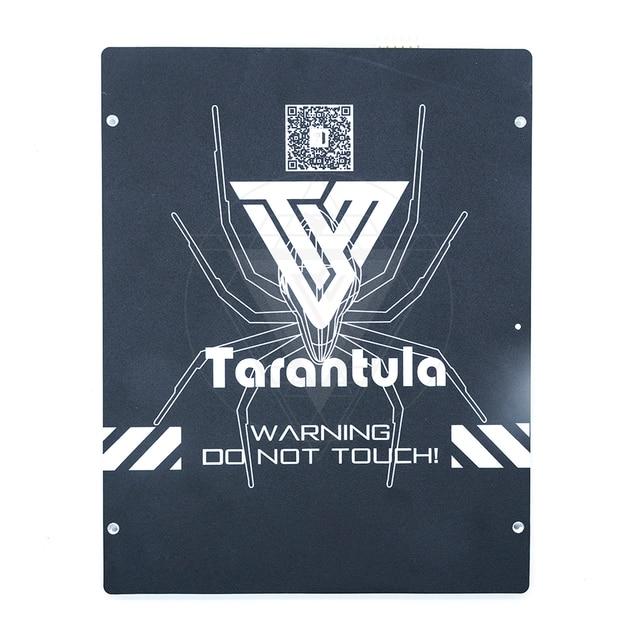 3D מדפסת חלקי אלומיניום מחומם מיטה עבור TEVO טרנטולה מחומם מיטה 220*220mm & 200*280 אלומיניום צלחת המיטה/pc סרט/לבנות
