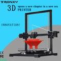 2016 Лучший Tronxy X3 DIY kit 3d-принтер Алюминиевого Профиля машина Reprap prusa i3 3D печати 2 рулона нити 8 ГБ SD карты подарки