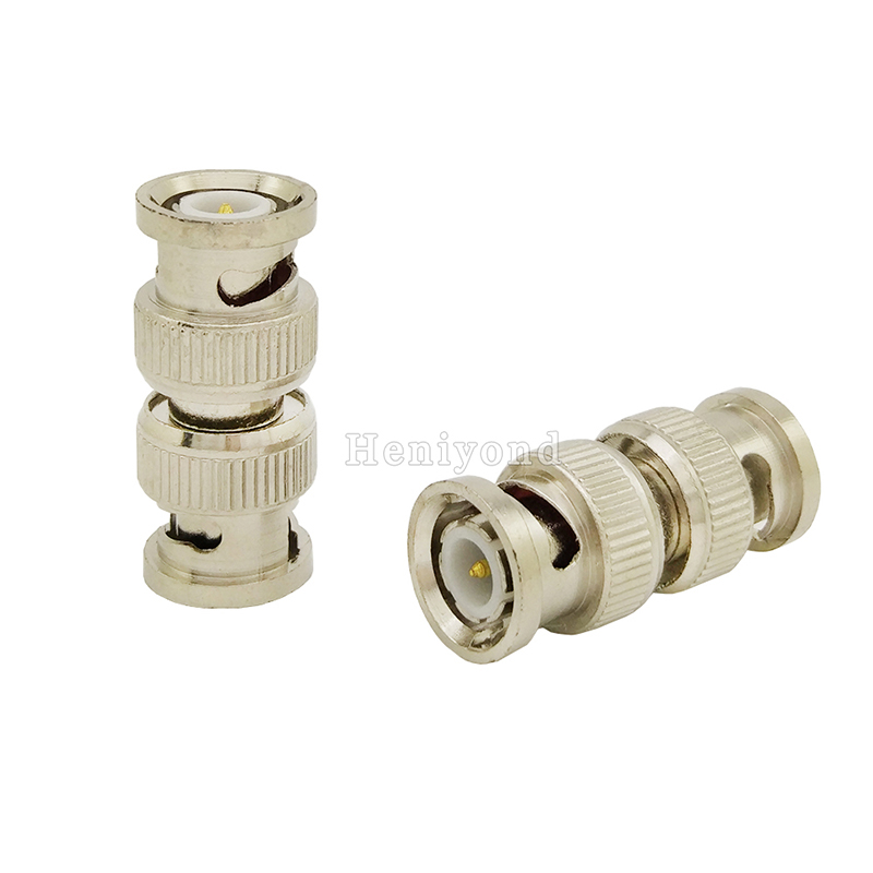 5pcs BNC Male To Male  Coupler Adapter Connector Coax Cable Female Connector Adapter F/M Coupler For CCTV Camera