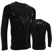MMA Jerseys VSZAP SHARP male long sleeved T-shirt mma hammer fitness Muay Thai training Cotton Breathable