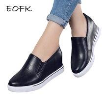 EOFK Women Pumps Shoes Woman Height Incr