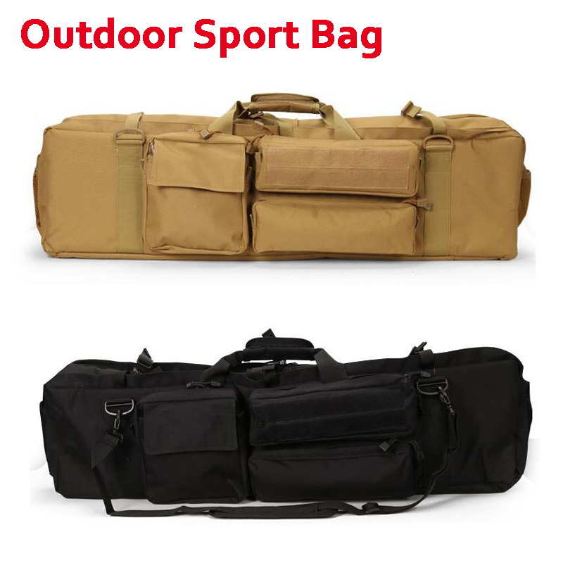 цена на New ! Outdoor Military Shooting Airsoft Paintball Tactical Hunting Rifle Gun Carry Protection Bag Fishing Sport Shoulder Bags