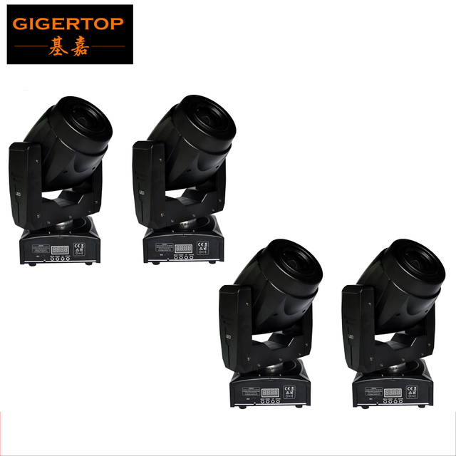 Freeshipping 4 Unit 60w Mini Led Moving Head Light Small Mounting