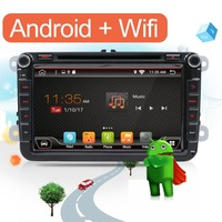 8 Capacitive Screen Quad Core Android 4 4 4 Car DVD GPS Can Bus For VW