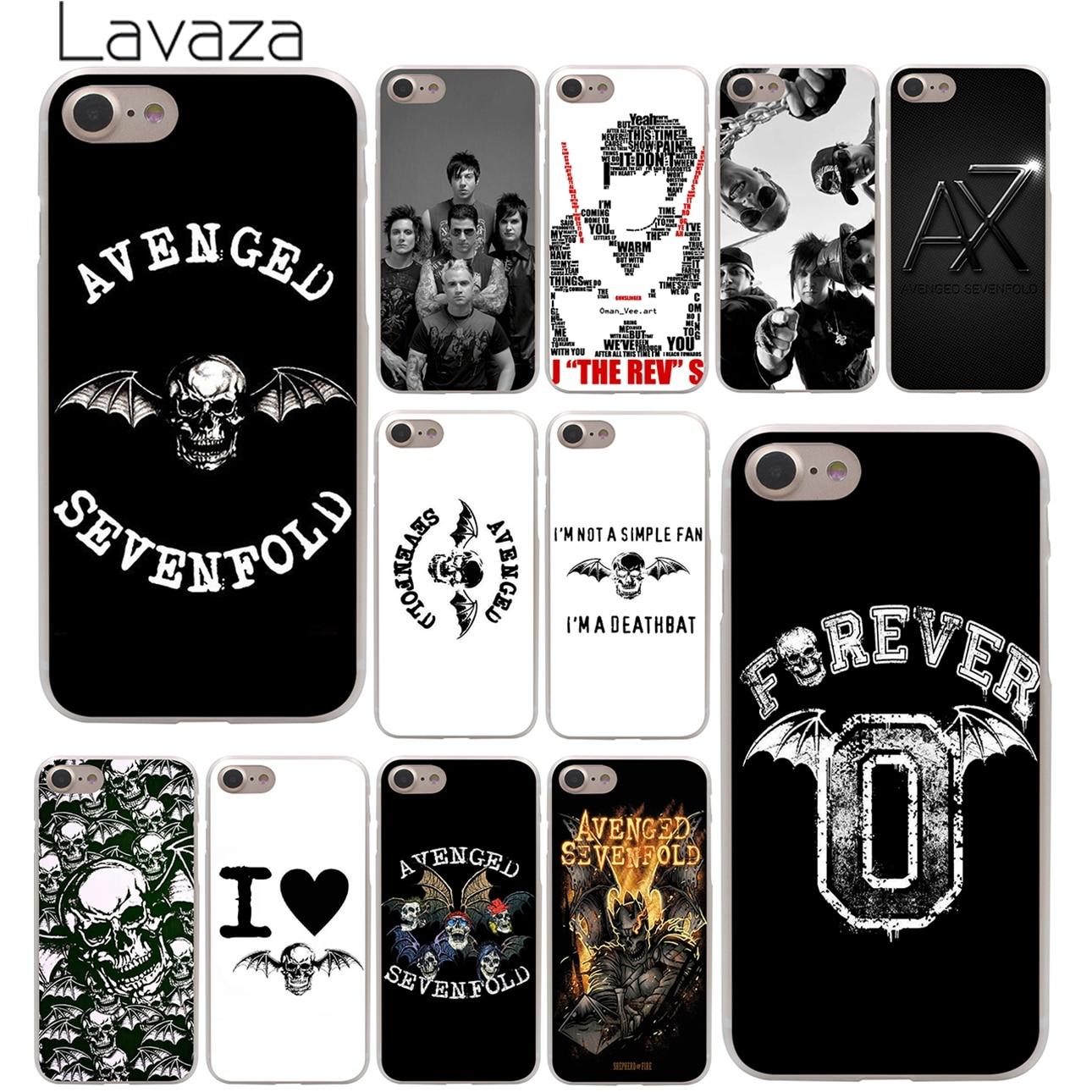 Avenged Sevenfold Hard Case Transparent for iPhone 7 7 Plus 6 6s Plus 5 5S SE 5C 4 4S