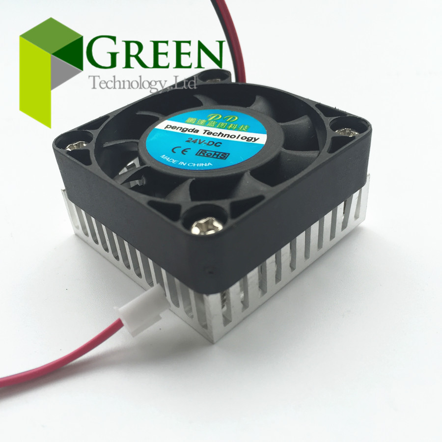 4pcs NEW DC 5V 12V 24V 40mm 40*40*10mm BGA fan Graphics Card Fan with Heat sink Cooler Cooling Fan 2pin new n9400gt md1gt n9400gt td1g n9500gt graphics card fan rk7015b diameter 65mm 12v 0 14a