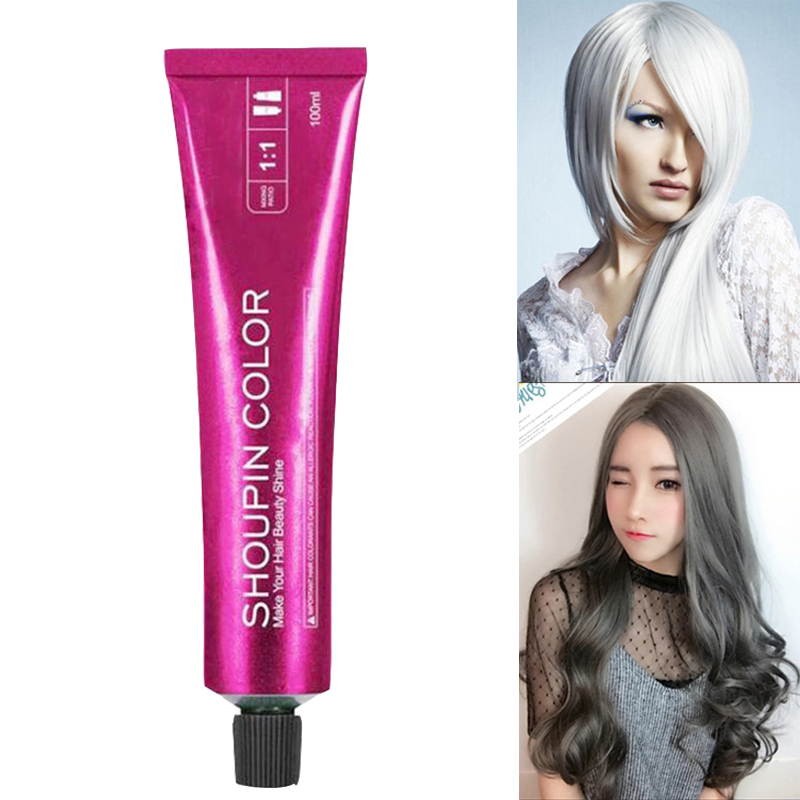 Professional Permanent Super Hair Dye Wax Hair Color Cream Non-toxic DIY Hair Styling Coloring Molding Paste Hair Color Wax