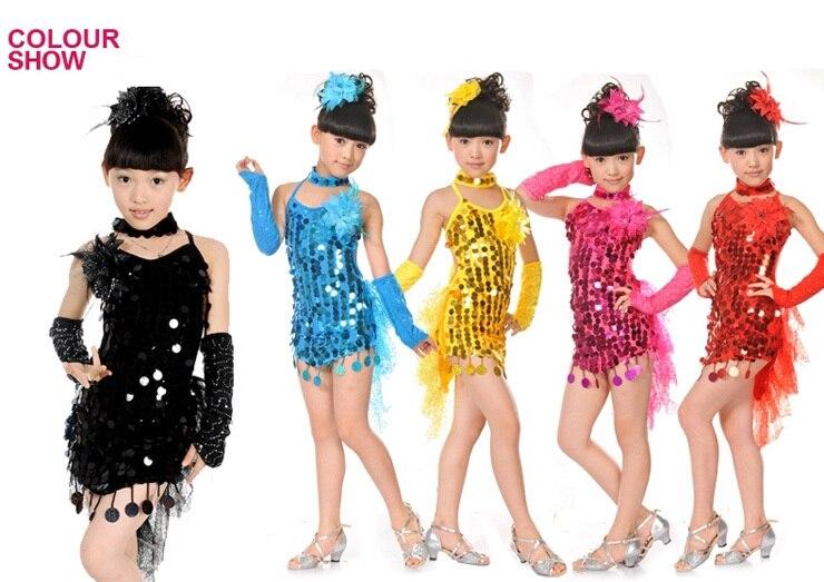 Латино платья для девочек