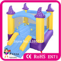 Popular Inflatable Bouncer Combo Bounce House Moonwalk Combo With Slide For Kids