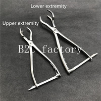 Stainless steel Three claw reset forceps Veterinary orthopedics Instruments