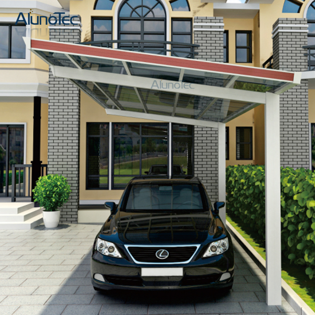 Uv schutz Auto Shelter Car Dach Aluminium Carport Abdeckung 5,5 mt ...