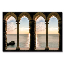 Hot Sales Framed Picture Beautiful sea view series HD Canvas Print Painting Artwork Wall Art painting Wholesale