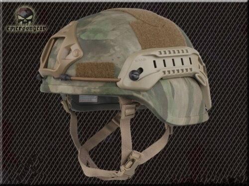 Тактический Велоспорт CS пневматический пистолет спортивный шлем EMERSON ACH MICH 2000 специальное издание шлем EM8978 8 цветов - Цвет: ATFG