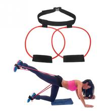 Women Resistance Workout Rubber Bands Loop Elastic Glute Muscles Lifter Trainer Fitness Pilates Stretch Exercise Band