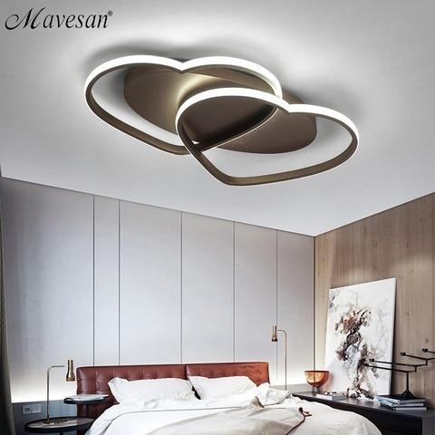 led lustre lampada de teto iluminacao moderna