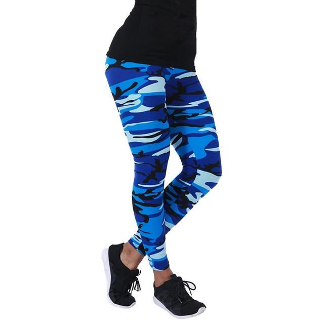 CUHAKCI-Legging de camuflaje ceñido para mujer, pantalones de ocio de alta elasticidad, adelganzantes, para primavera y otoño, nuevas marcas 5