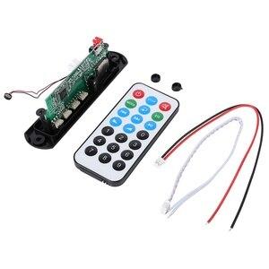 Высокое качество Беспроводной Bluetooth 12V 5V Micro USB микрофон 3,5 мм AUX аудио FLAC MP3 WMA декодер доска аудио модуль USB TF радио для автомобиля