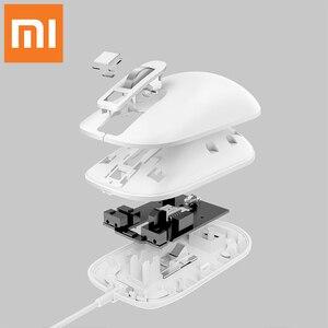 Image 3 - Original Xiaomi Jessis J1 Smart 125Hz 8G souris dempreintes digitales sûre Portable adieu mot de passe reconnaissance rapide souris de haute qualité