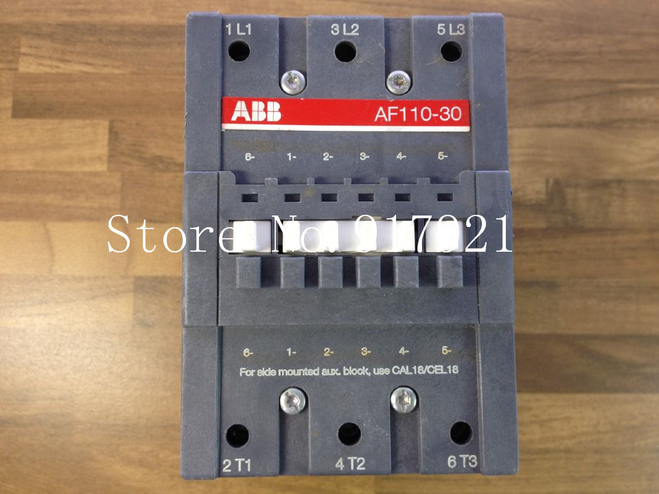 [ZOB] The original original AF110-30 DC contactor 100-250VAC/DC AC contactor