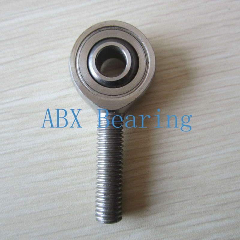 28mm SA28T/K POSA28 SAL28T/K POSAL28 rod end joint bearing metric male left hand thread M27X2mm rod end bearing silver male left hand 12mm metric threaded rod end joint spherical plain bearing pack of 2