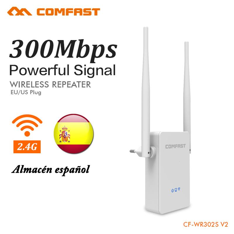 COMFAST WR302s Wireless WIFI Repeater 300Mbps WiFi Signal Amplifier extender home use router Strength wi fi Booster 802.11N/B/G 2 4ghz 8w wlan wifi wireless broadband amplifier signal booster for rc radio extend the distance