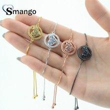 Women CZ Bracelet, Fashion Jewelry, The Heart-Shape, Four Plating Colors,Can Wholesale,5pcs