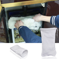 35x20cm Fish Tank Magical Filter Sock Bag Aquarium Sump Dry Wet Separation Filter Cotton Bag Aqaurium