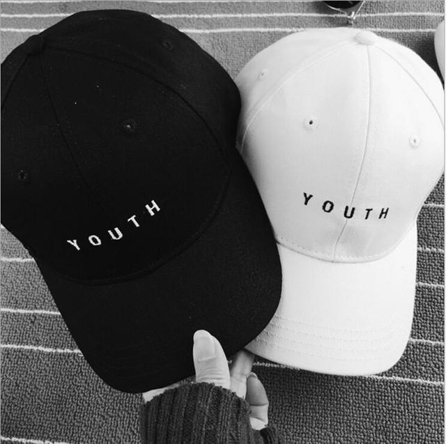 f2cf4ea7dcb2 New arrive Baseball Cap Hat Snapback lovers spring summer man women hat  embroidery letter YOUTH outdoor leisure baseball cap