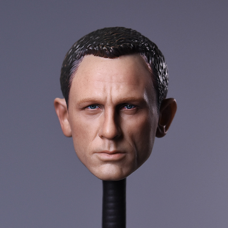 "BLACKBOX 1//6 Scale 007 Ghost Daniel Craig Head Sculpt For 12/"" Male Toys Action"