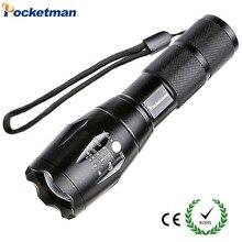 Linterna LED 3x AAA фонарик 18650 E17 Увеличить светодиодный фонарик Фонари 5 Режим XML T6 алюминиевый регулируемая вспышка
