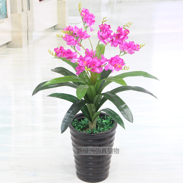 Wholesale artificial flowers artificial plants potted bonsai tree wholesale artificial flowers artificial plants potted bonsai tree fake plastic flowers decorated the living room balcony mightylinksfo