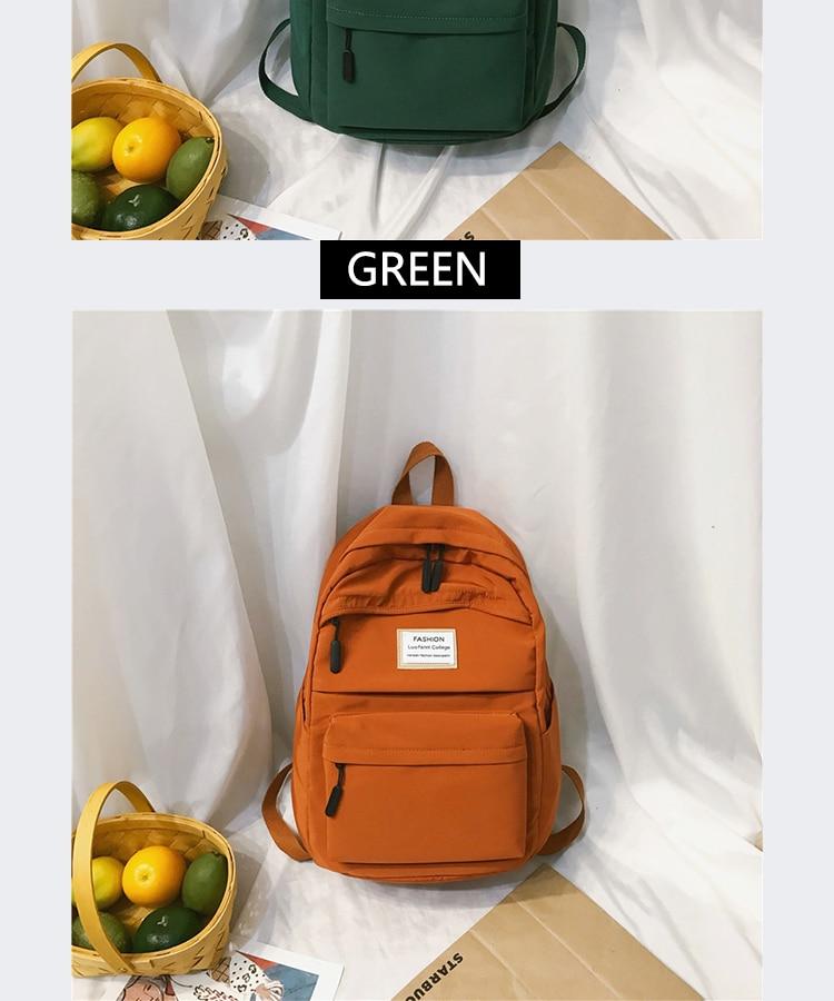 HTB1ztyca79E3KVjSZFGq6A19XXaf 2019 New Backpack Women Backpack Fashion Women Shoulder nylon bag school bagpack for teenage girls mochila mujer