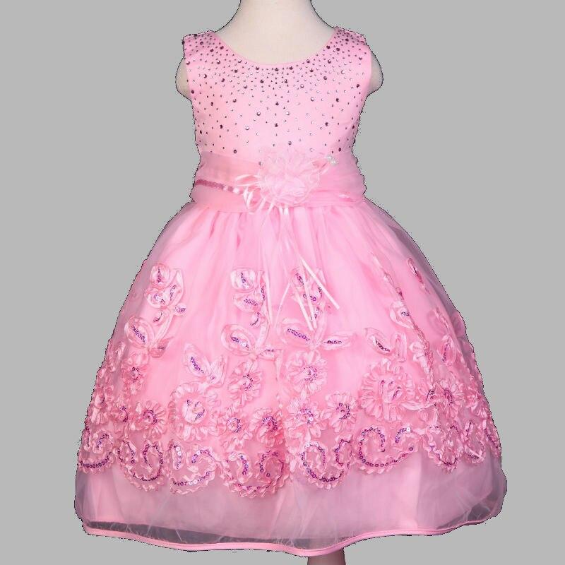 Vestido de verano para niños niñas vestido párr dama de honra ...