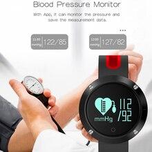 Фустер Водонепроницаемый DM58 умный Браслет 32KB + 256KB памяти Запись Фитнес сердечного ритма данных трекер Носимых устройств для iOS и Android