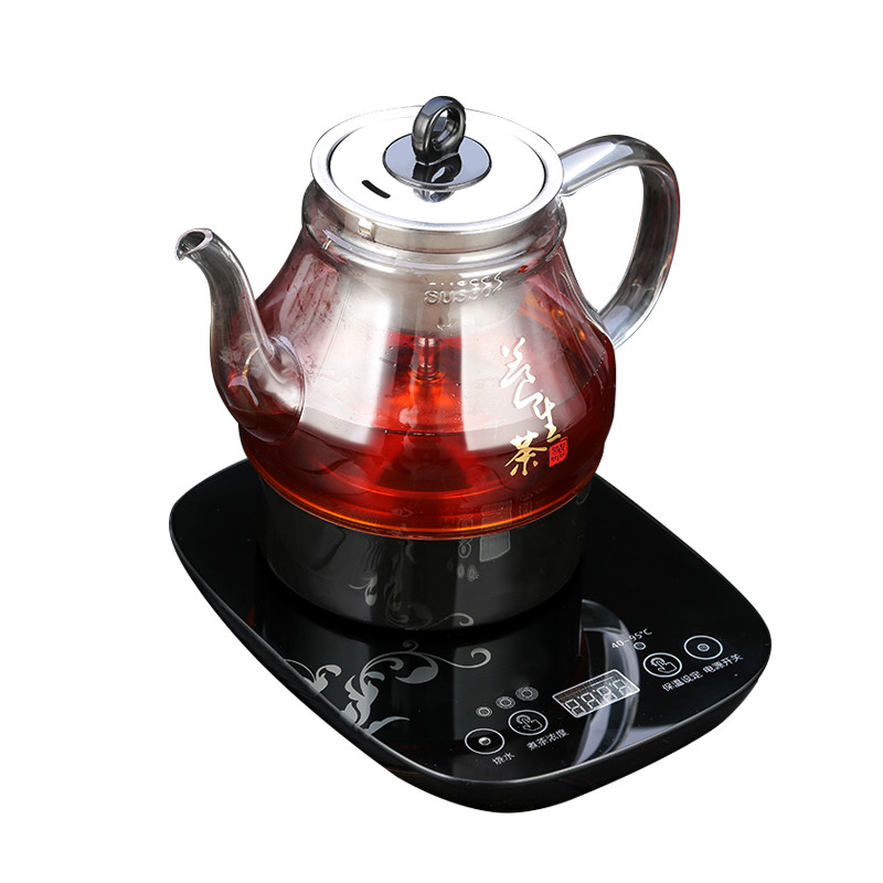 Electric kettle Brew tea - scented electric Fully automatic thickened glass steam black electric kettle parts thermostat jb 01e sld 113 ch 588 sl 888 zl 189 a zl 189 b kettle steam switch